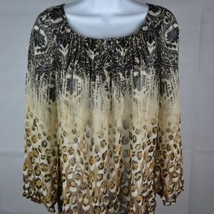 Chico's Women's Blouse Size 0 Long Sleeve